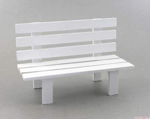 deko holzbank wei 42 3352 17x11cm 5 20. Black Bedroom Furniture Sets. Home Design Ideas